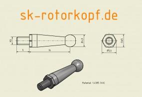 Edelstahl Kugelkopf T3