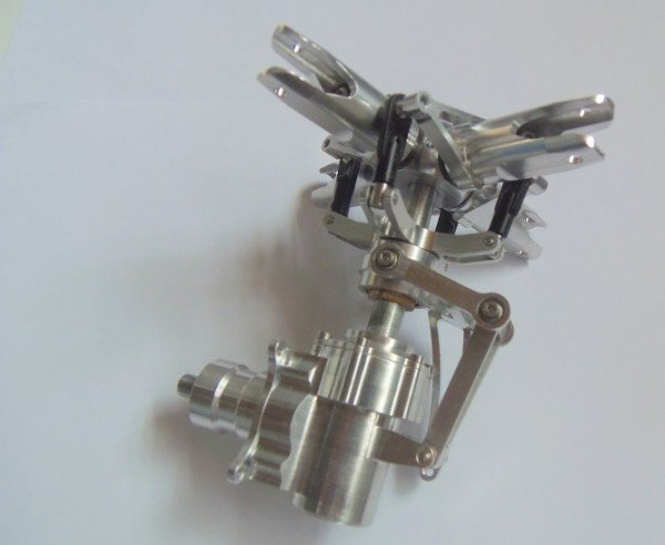 Heckgetriebe / Heckrotor Großmodell 4Blatt