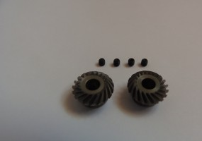 5 mm Stahl Kegelstahlzahnräder Klingelnberg - Zyklo Palloid Spiralkegelradsatz 1:1