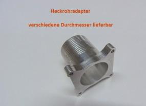 Heckrohr / Heckrotor Aufnahmeadapter für 2,5 Meter Getriebe