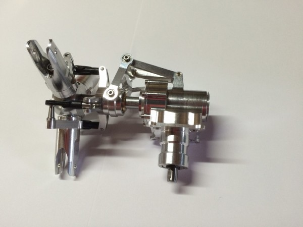 Heckgetriebe / Heckrotor Großmodell 3Blatt