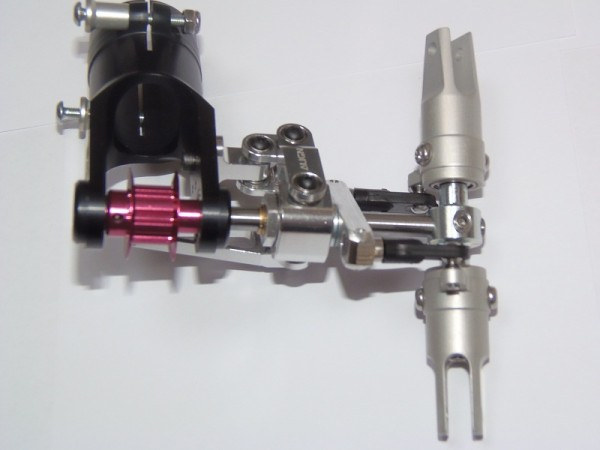 Alu Scale Heckrotor - Getriebe für Zahnriemenantrieb