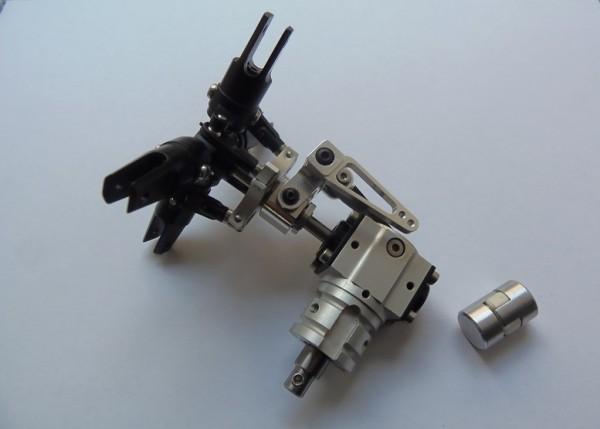 4Blatt Alu Scale Heckrotor - Getriebe für Starrantrieb
