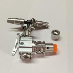 Alu Scale Heckrotor - Getriebe für Starrantrieb